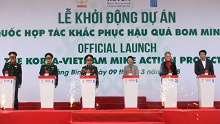 Viet Nam: Mine Action Project launched with support from Korea
