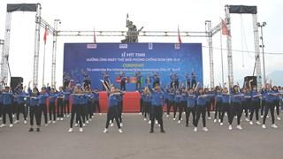 Tỉnh đoàn Bình Định phối hợp tổ chức Lễ mít tinh hưởng ứng Ngày thế giới phòng chống bom mìn năm 2019