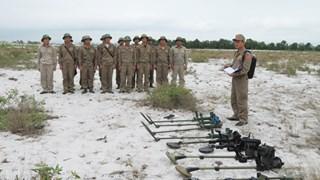 Tiếp tục kế hoạch rà phá bom mìn, vật nổ trên địa bàn 2 tỉnh Quảng Bình và Bình Định