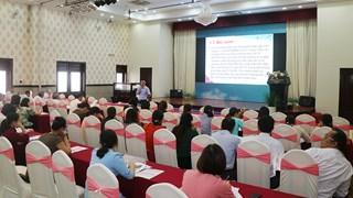 Tập huấn chính sách mới về trợ giúp xã hội và nghiệp vụ phục hồi chức năng trợ giúp nạn nhân bom mìn và người khuyết tật tại Bình Định, Quảng Bình