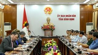 Đoàn cấp cao Dự án KVMAP làm việc với tỉnh Bình Định