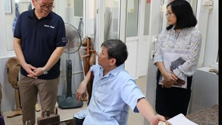 Bình Định: Giám đốc KOICA Việt Nam thăm Bệnh viện Chỉnh hình và Hồi phục chức năng Quy Nhơn