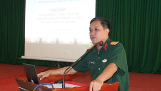 Hội thảo tại tỉnh Bình Định về quy chế quản lý thông tin trong các dự án khắc phục hậu quả bom mìn sau chiến tranh tại Việt Nam