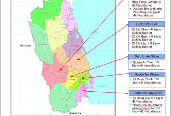 Khảo sát - rà phá tỉnh Bình Định