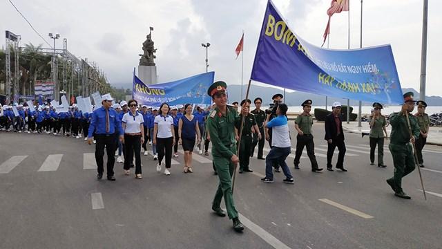 Ceremony looks to promote people's mine awareness
