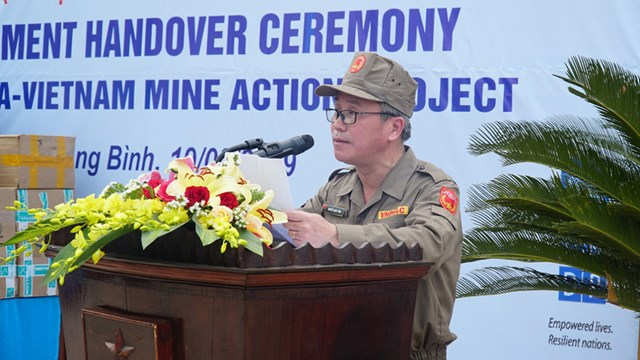 Accelerating mine action for safety and sustainable development