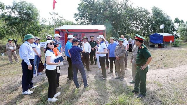 Kết quả khảo sát và rà phá quý III/2019 tại 2 tỉnh Quảng Bình và Bình Định