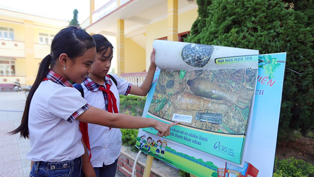 A successful experience from the Education to prevent accidents from mines/UXO campaign