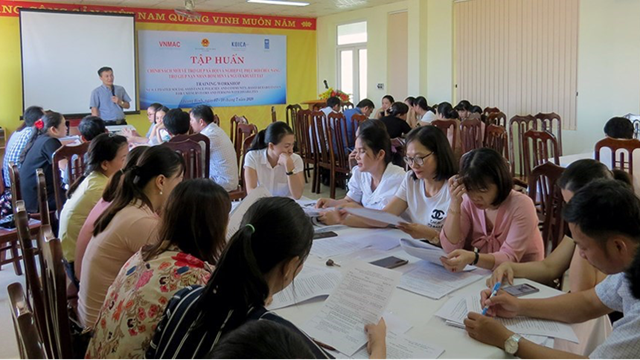 Results of the implementation of the education campaign to September 2020 in Binh Dinh