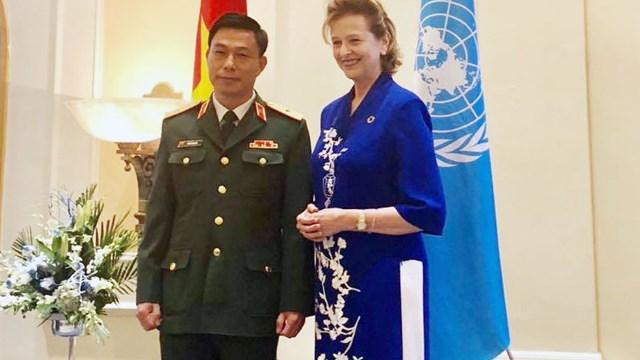 Tổng giám đốc VNMAC dự lễ kỷ niệm 75 năm thành lập Liên hợp quốc tại Việt Nam