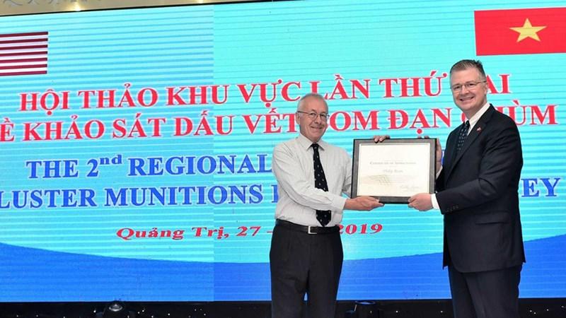 Đại sứ Kritenbrink nêu bật thành tựu của tỉnh Quảng Trị tại Hội thảo khu vực do Hoa Kỳ tài trợ