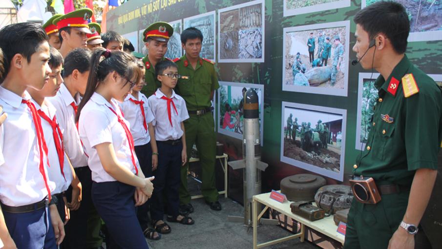 Triển khai các hoạt động tuyên truyền phòng tránh tai nạn bom mìn tại tỉnh Quảng Bình năm 2019