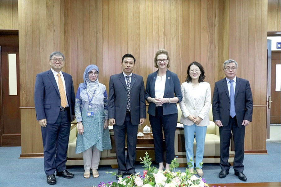 New developments in the coordination between VNMAC, KOICA, and UNDP in the coming time