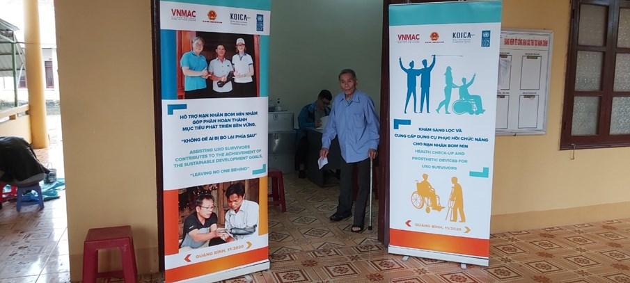 Cung cấp chân tay giả cho nạn nhân bom mìn ở Quảng Bình: Những hỗ trợ thiết thực đầu tiên